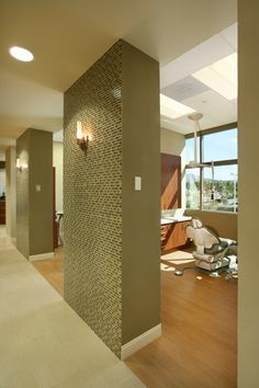 Color...Aria Irvani dental office treatment room.
