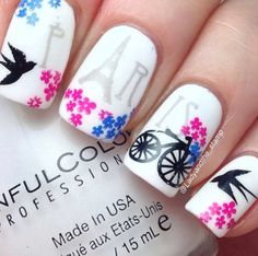 Paris Nail Art