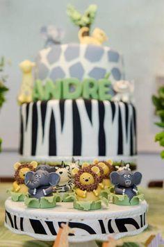 Kara's Party Ideas Safari Wild Child Year Boy Girl Themed Birthday Party Planning Ideas