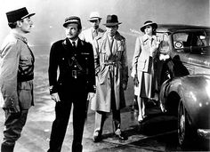 """Casablanca (Michael Curtiz, 1942)  """"Louis, I think this is the beginning of a beautiful friendship."""""""