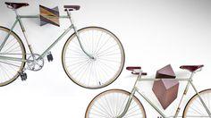Bike wall mount for studio: http://1.bp.blogspot.com/-b0_HtweAu-0/UJXbKHsqGZI/AAAAAAAAGLI/YhbMddZ3yUI/s1600/Oak%2BWood%2BBike%2BHanger.jpg