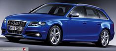 audi a4 2007 s line blue - Google Search