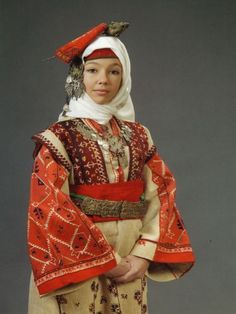 bulgarian national costume - Google Search