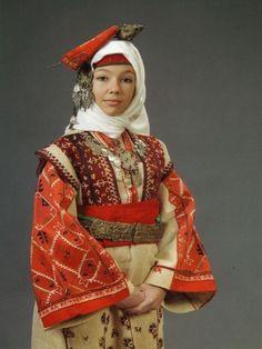 bulgarian national costume - Google Search