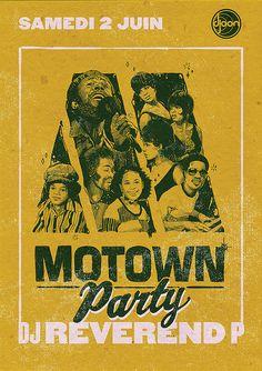 Motown Party Postcard 5/12 by subgrafik, via Flickr