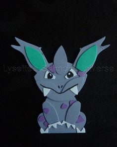 Gotta Craft Them All challenge dag 34: Nidorino https://www.facebook.com/Lysettes.stampin.universe/