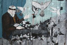 San Francisco Street Art - Reflections Enroute