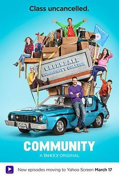 Community moved to Yahoo for their sixth season.