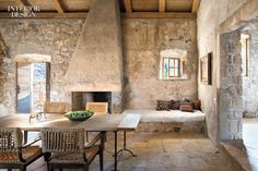 too much stone, timber floors and stone where the walls are rendered/marrakesh'ed