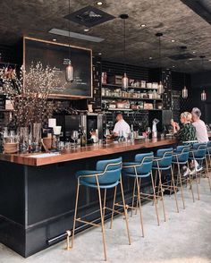 Restaurant Design Like A Champ With The Help Of These Tips Bar Interior Design, Restaurant Interior Design, Cafe Design, Wine Bar Design, Starting A Coffee Shop, Coffee Shop Bar, Counter Design, Design Studio, Tasting Room