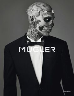 Rick Genest, Mugler, F/W 2011