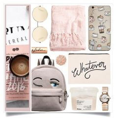 """""""Playing"""" by racanoki ❤ liked on Polyvore featuring ALPHABET BAGS, Davines, H&M, Victoria Beckham, Gucci, La Mer, Charlotte Tilbury and RaCaNoKi"""
