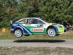 Ford Focus WRC rally car