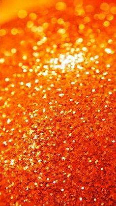 Orange sparkle for the win! Orange Wallpaper, Glitter Wallpaper, Wallpaper Desktop, Orange Aesthetic, Aesthetic Colors, Magenta, Orange Glitter, White Glitter, Jaune Orange