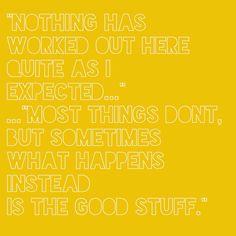 The Best Exotic Marigold Hotel Quote - Georgina Holman