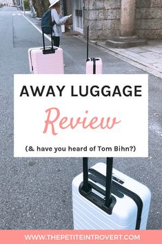 This post is for you if you're tired of replacing luggage sets or backpacks constantly. Away Luggage and Tom Bihn are two high-quality brands with functional travel bags. I feel confident in buying from them because of their quality, warranties, and hones Luggage Reviews, Korean Products, Group Travel, Luggage Sets, Travel Themes, Paris, Travel Bags, Investing, Honesty