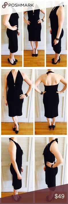 Gem Embelished Halter Top Dress Worn, but in decent shape! Has a gem in the center of the v-neck and a little bow. Trendy Fashion, Girl Fashion, Womens Fashion, Fashion Tips, Fashion Design, Fashion Trends, Hippie Style, Girl Style, Bow Ties