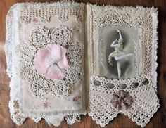 Ballerina Fabric Collage Book, Pages 8&9 | Flickr - Photo Sharing!