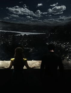 Feyre and Rhysand in the Night Court