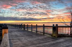 Boardwalk in Havre de Grace, MD