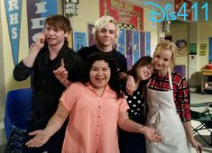 Ahhhhhhh!!!!! No Way I wonder if their going to be doing a crossover or something like that and this picture is so so cute and if they were going to have an crossover episode if In part of it Livi could Be flirting with Austin and Ally seeing them thinking he is cheating on her with Livi and then breaking up with him and then they get back together and kiss and there has to be an Austin Ally and Liv combined song