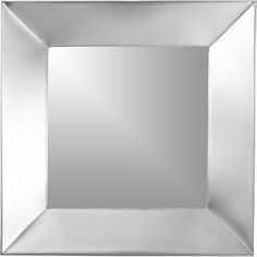 Iso Square Wall Mirror in Mirrors | Crate and Barrel