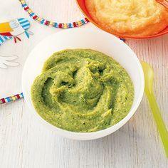 Brokkoli-Hafer-Brei Rezept | Küchengötter für Babys
