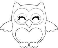 pattern for a cute owl (could be from felt, paper, fabric .): - pattern for a cute owl (could be from felt, paper, fabric …): Das schönste Bild für diy face ma - Owl Patterns, Applique Patterns, Quilt Patterns, Sewing Patterns, Owl Applique, Stencil Patterns, Stencil Designs, Felt Owls, Felt Animals
