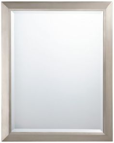 Amazon Framed Bathroom Mirrors hib bala rectangular bathroom mirror with clear glass frame and