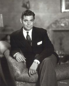 Clark Gable, another one of my favorite actors, Handsome too!