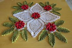 Christmas Decoration Doily