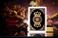 GOLD CROWN DECK Playing Cards / 1 NEW / v1 1st Edition RARE / Luxury Theory | eBay
