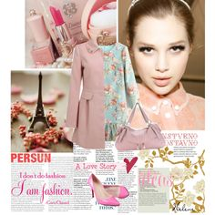 """""""Pink Love Story!"""" by helenevlacho on Polyvore"""