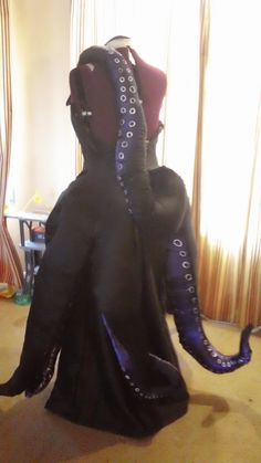 about Ursula Sea Witch Inspired Little Mermaid Costume Cosplay Custom Ursula Inspired Halloween Costume Mermaid Cosplay TentaclesUrsula Inspired Halloween Costume Mermaid Cosplay Tentacles