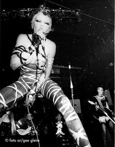 Wendy O.Williams. PLASMATICS
