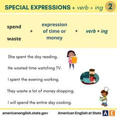 Phrases: Special Expressions + verb + ing 2