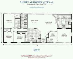 30'x66' home plan