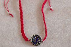Macrame necklace de la boutique Batinetteshop sur Etsy