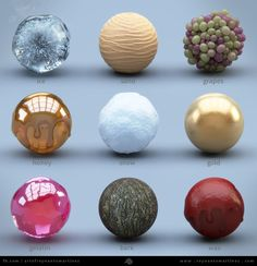 Cycles Material Studies - Google Search