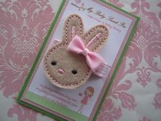 Girl hair clips Easter hair clips girl by mybabysweetpea on Etsy, $3.85