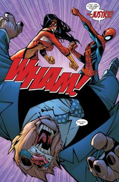 Teaming up with Spider-Woman in Free Comic Book Day Spider-Man (2011)