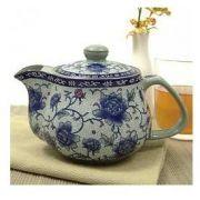 Vintage Peonies Teapot - 16 oz