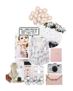 """""""We belong to nobody, and nobody belongs to us."""" by taspxa ❤ liked on Polyvore featuring Lollipop, Reverse, Dot & Bo, Universal Lighting and Decor, Nly Shoes, Nearly Natural and Kate Spade"""