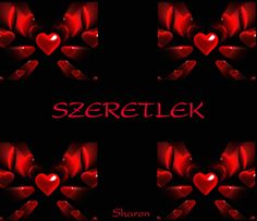SZERETLEK.... I Love You Animation, Animated Heart, Beautiful Photos Of Nature, Flower Aesthetic, Fantasy Art, Cool Pictures, Lily, Valentines, My Love