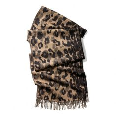 """Loving all things """"animal"""" for fall: The Ocelot Scarf from Coach"""