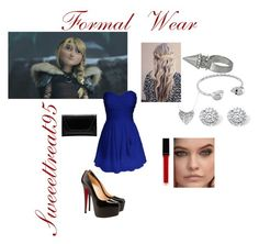 Astrid Formal Wear by sweeettreat95 on Polyvore featuring polyvore fashion style Christian Louboutin Flynn Alexander McQueen Palm Beach Jewelry Humble Chic Witchery clothing astrid httyd