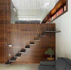 Escaleras empotradas