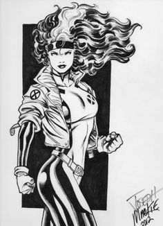 Rogue 2, in MattJames's X-Men Comic Art Gallery Room  *my favourite x-man: such a pillar of strength and humor*