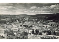 Tegucigalpa vista desde La Leona 1945