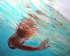 My idea of  paradise: swimming in Caribbean waters. (Carol Bennett - Swoosh)